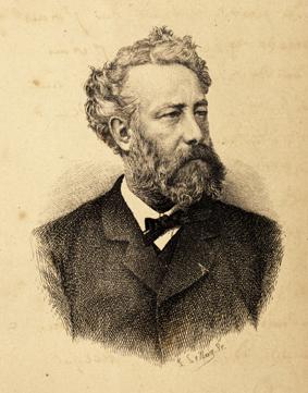 Jules Verne. Collection Maison d'Ailleurs / Agence Martienne