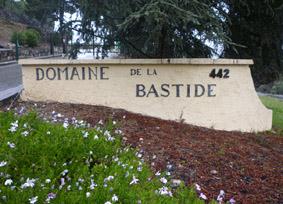 L'entrée du Domaine de la Bastide